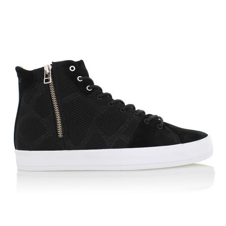 Carda High-Top Shoe // Black + Camo (US: 7)