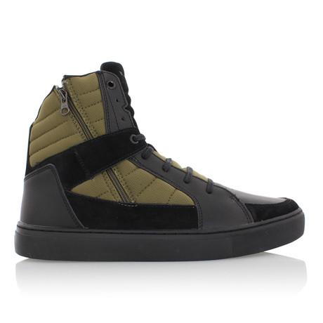 Varici Boot // Black + Olive (US: 7)