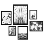 Black & White Photography Framed Gallery Wall Set II