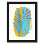 Modern Tropical Framed Gallery Wall Set III