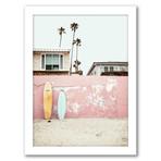 Beach Photography Framed Gallery Wall Set