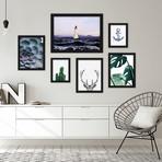Contemporary Mixed Art Gallery Wall Set