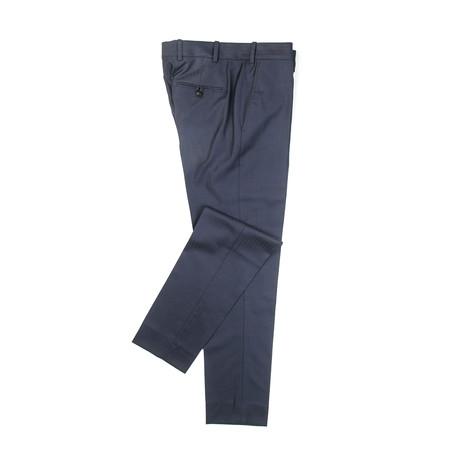 BKT50 Trouser // Navy Herringbone (XS)