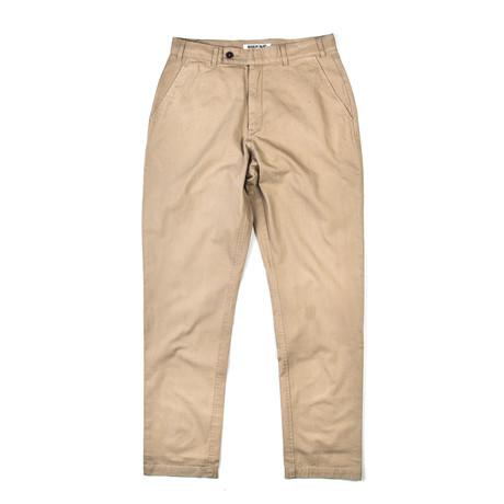 BKT30 Slim Fit Chino // Suntan (XS)