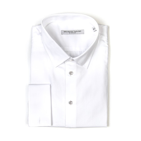 BKT20 Tuxedo Shirt // White (XS)