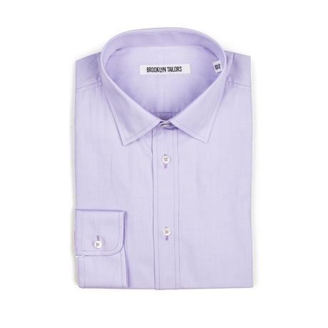 BKT20 Dress Shirt // Lavender End-on-End (XS)