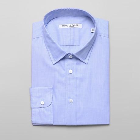 BKT20 Dress Shirt // Blue End-on-End (XS)