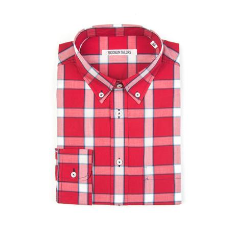 BKT10 Sport Shirt // Red Plaid (XS)