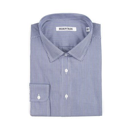 BKT20 Dress Shirt // Navy + White Gingham (XS)