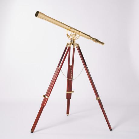 Premium Harbormaster Telescope W/ Arc Mount // 44-Inch