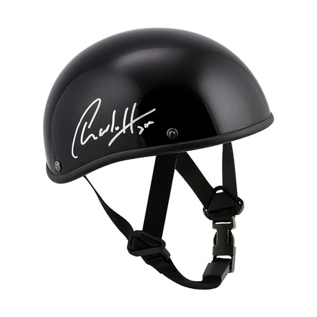 Charlie Hunnam Autographed Authentic Voss Motorcycle Screen Accurate Helmet