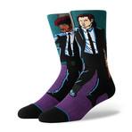 Vincent + Jules Socks // Purple Socks (L)