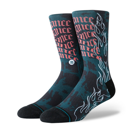 Stance Flame // Multicolor // Pack of 6 (M)