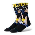 Pulp Fiction Socks // Black Socks (M)