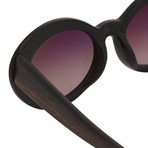 Women's Odlr26C1 Sunglasses // Black + Sandal Wood