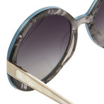 Women's Odlr5C7 Sunglasses // Aqua + Mother Of Pearl