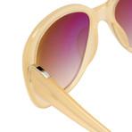 Women's Odlr45C5 Sunglasses // Nude