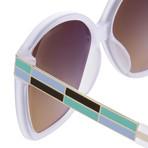 Women's Odlr21C6 Sunglasses // Ivory