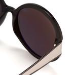 Women's Odlr58C1 Sunglasses // Black Silver + Gray