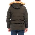 Jules Coat // Khaki (XL)