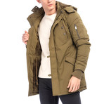 Garrett Coat // Soldier Green (S)