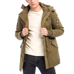 Garrett Coat // Soldier Green (L)