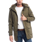 Tavon Coat // Green (L)