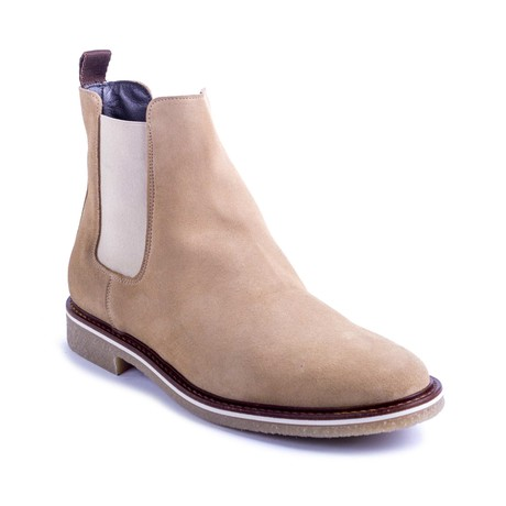 Somine Suede Chelsea Boots // Beige (Euro: 39)