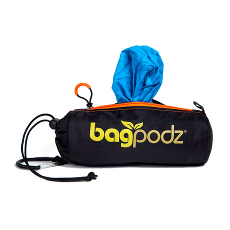 Bag Podz // Caribbean Blue // 10-Pack