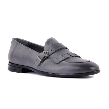 Landon Topo Scotch Loafers // Gray (Euro: 39)