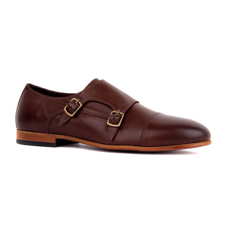Maverick Monk Strap // Brown (Euro: 39)