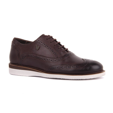 Jason Wingtip Sneaker // Brown (Euro: 39)