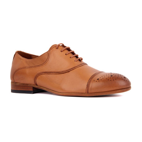 Parker Scotch Cap Toe // Tobacco (Euro: 39)