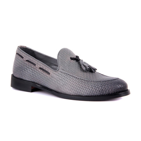 Theodore Topo Scotch Loafers // Gray (Euro: 39)