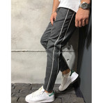 Ankle Pants + Stripes // Anthracite (31WX31L)