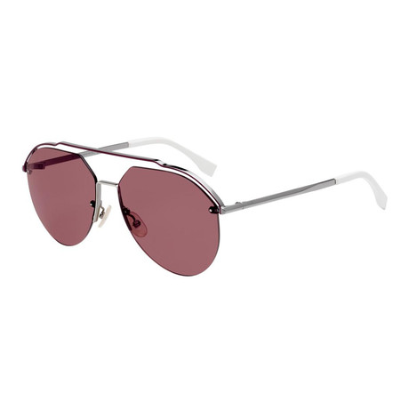 Men's M0031 Sunglasses // Dark Ruthenium + Violet