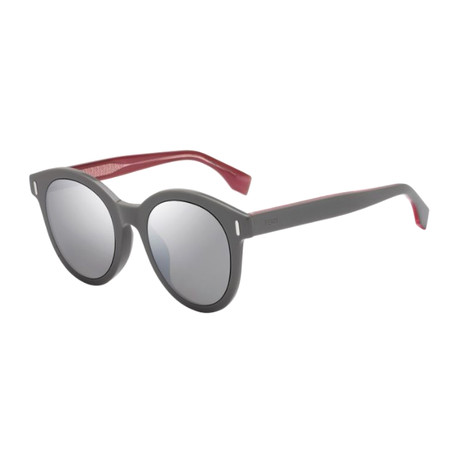 Men's M0052 Sunglasses // Gray + Silver