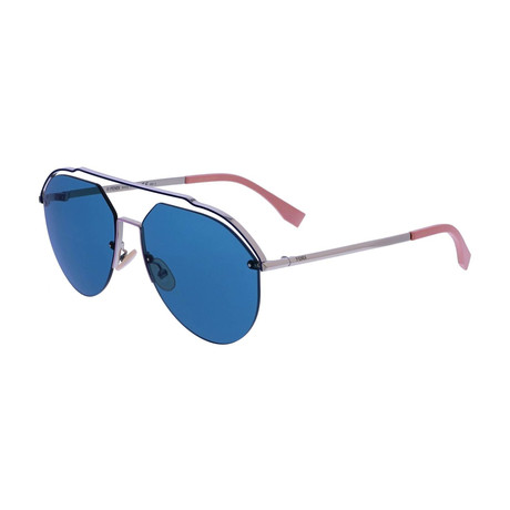 Fendi // Men's M0031 Sunglasses // Blue