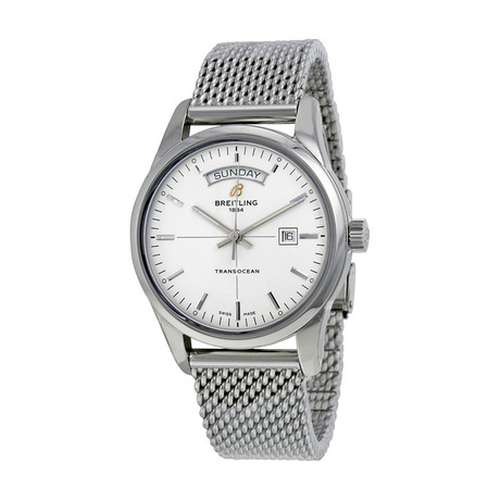 Breitling Transocean Automatic // A4531012-G751-154A // New