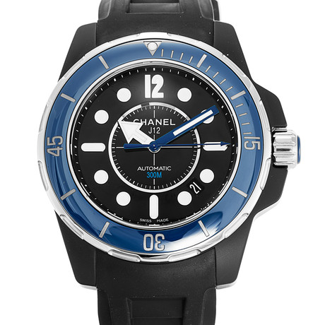 Chanel J12 Marine Automatic // H2559 // Store Display