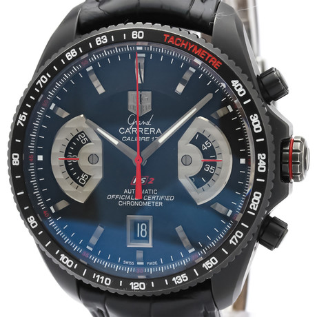 Tag Heuer Grand Carrera Chronograph Automatic // CAV518.FC6237 // Pre-Owned