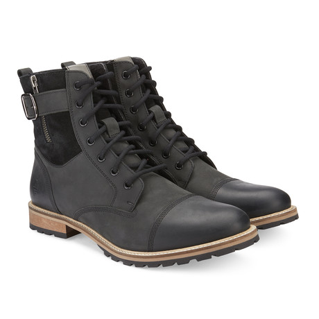 Kenton Lace-Up Boot // Black (US: 7.5)