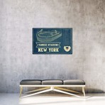 "New York Yankees Stadium // Cutler West (26""W x 18""H x 0.75""D)"