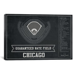 "Chicago Guaranteed Rate Field // Cutler West (26""W x 18""H x 0.75""D)"