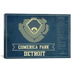 """Detroit Comerica Park I // Cutler West (26""""W x 18""""H x 0.75""""D)"""