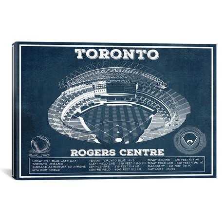 "Toronto Rogers Centre // Cutler West (26""W x 18""H x 0.75""D)"