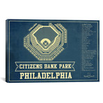 "Philadelphia Citizens Bank Park II // Cutler West (26""W x 18""H x 0.75""D)"