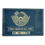 "Cincinnati Great American Ball Park I // Cutler West (26""W x 18""H x 0.75""D)"