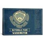 "Washington Nationals Park // Cutler West (26""W x 18""H x 0.75""D)"