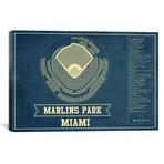 "Miami Marlins Park II // Cutler West (26""W x 18""H x 0.75""D)"